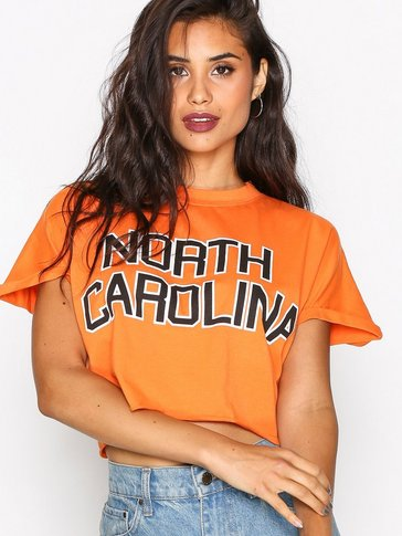 Missguided - Slogan Cropped T-shirt