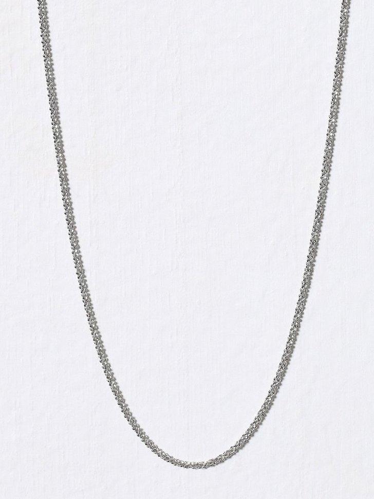 Criss Cross Chain 45cm køb smykker