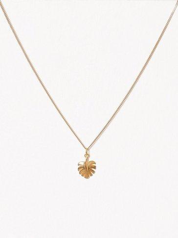 Blue Billie - Palm Leaf Charm
