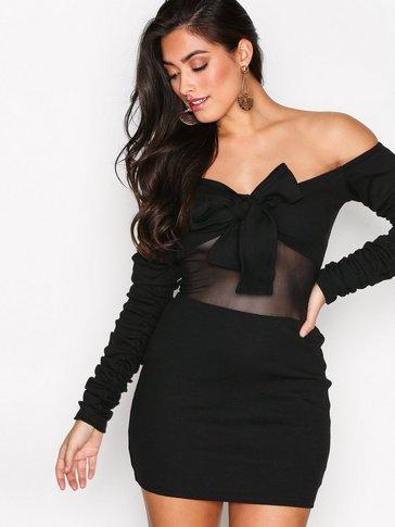 Missguided - LONDUNN Tie Front Dress