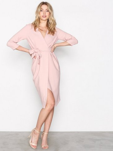 Closet - 3/4 Sleeve Wrap Dress