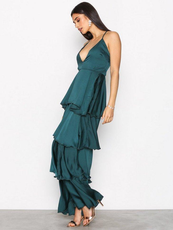 Gallakjole festkjole Strappy Layered Dress festtøj