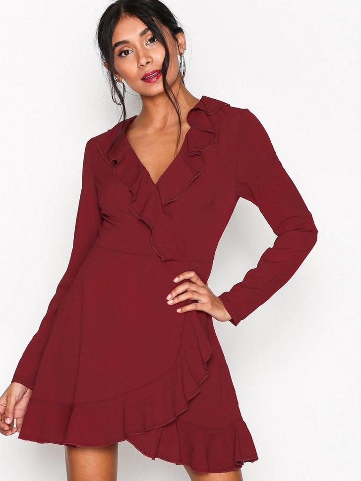 Nelly.com SE - Plain Ruffle Tea Dress 298.00