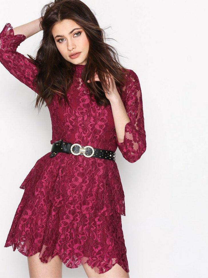 Lace Layered Frill Dress