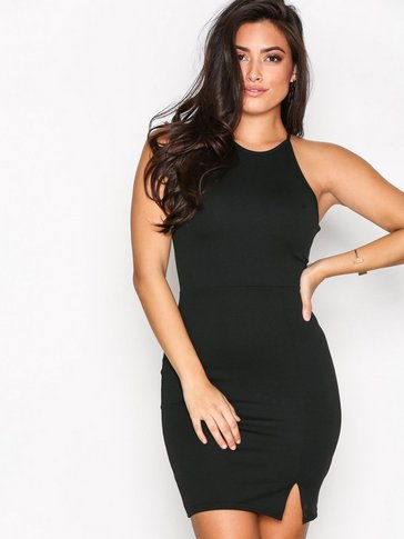 Missguided - 90's Neck Mini Dress