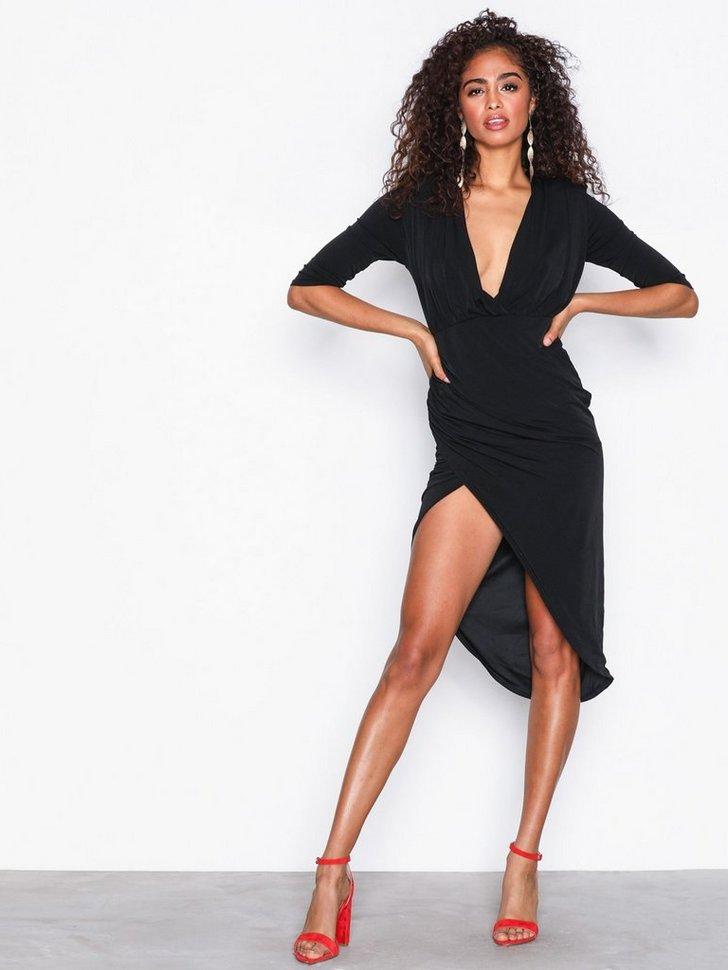 Nelly.com SE - Slinky Wrap Asymmetric Midi Dress 348.00