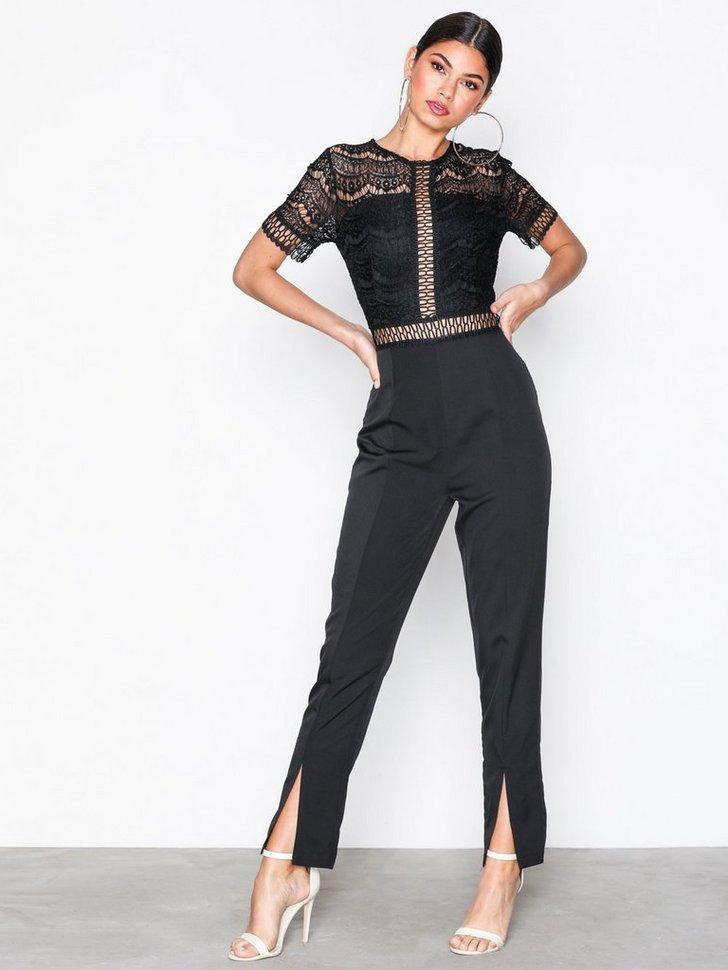Nelly.com SE - Lace Top Cigarette Trousers Jumpsuit 448.00