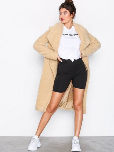 Missguided - Waterfall Teddy Coat