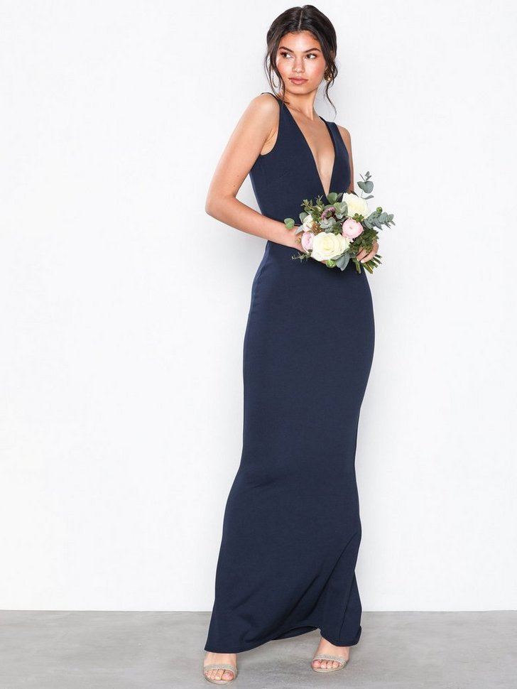 Nelly.com SE - V-Neck Plunge Maxi Dress 398.00