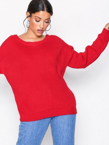 Missguided - Twist Back Long Sleeve Jumper
