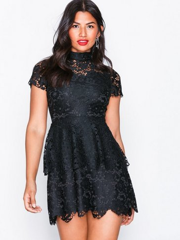 Missguided - Double Layer Skater Dress