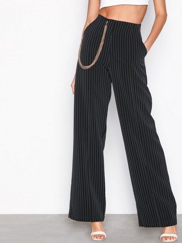 Nelly.com SE - Stripe Chain Wide Leg Trousers 398.00
