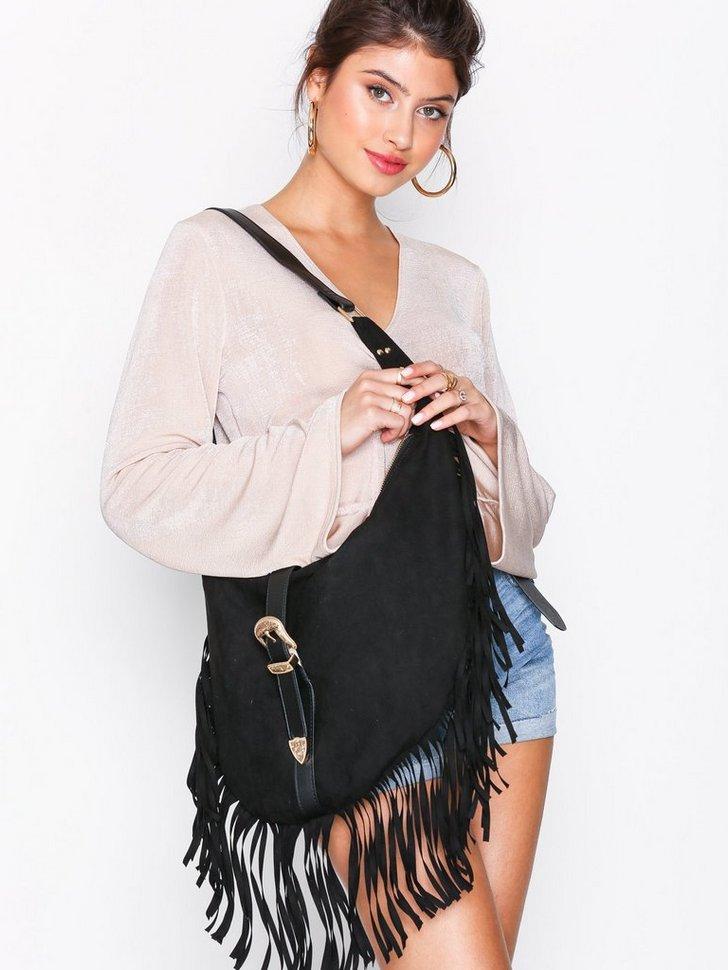Western Buckle Shoulder Bag