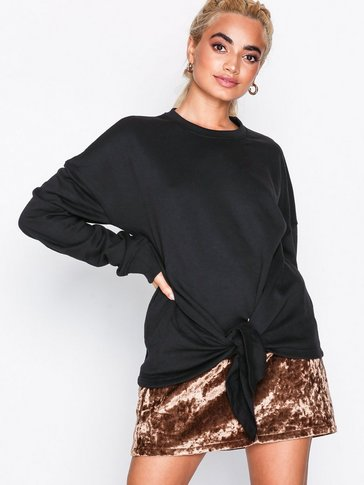 Missguided - Knot Front Sweatshirt