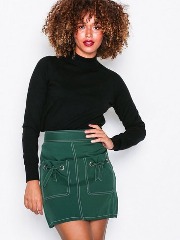 Missguided - Contrast Stitch Mini Skirt