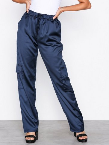 Missguided - Satin Utility Trousers