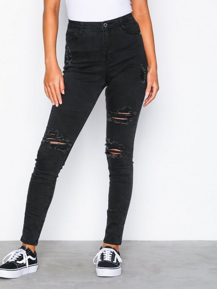 Nelly.com SE - High Waisted Authentic Ripped Skinny 318.00