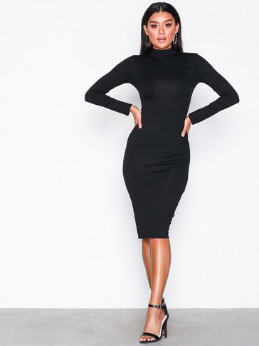 Missguided - High Neck Bodycon Dress