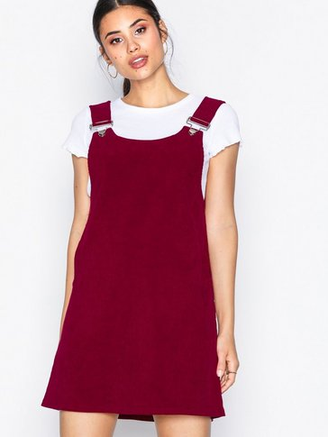 Missguided - Cord Pinafore Dress