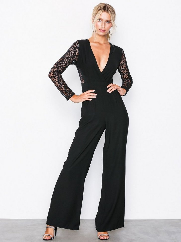 Nelly.com SE - Lace Sleeves Jumpsuit 478.00