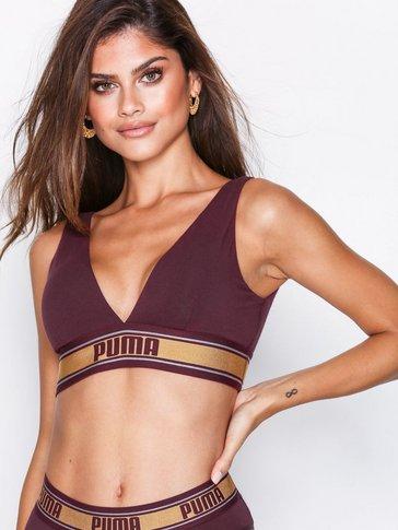Puma - V-neck Padded Top
