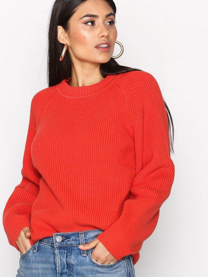 Sculptural Cotton Sweater