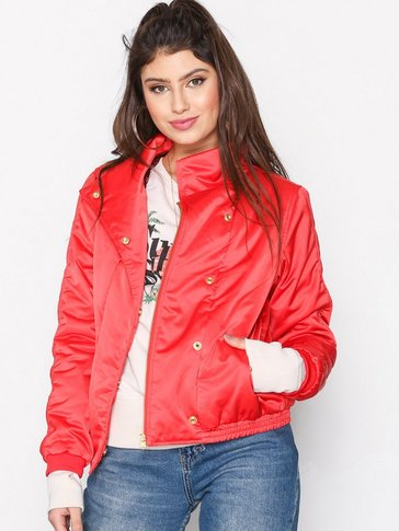 Maison Scotch - High-Neck Bomber Jacket