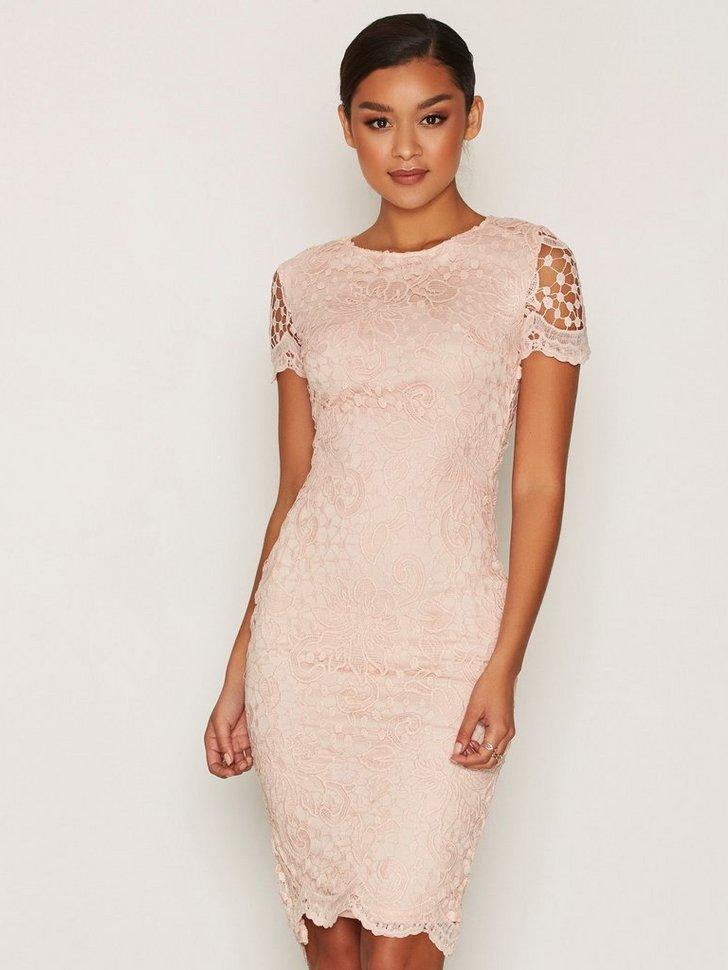 Nelly.com SE - Short Sleeve Midi Lace Dress 498.00