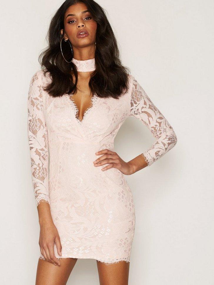 Nelly.com SE - Lace Choker Bodycon Dress 478.00 (598.00)