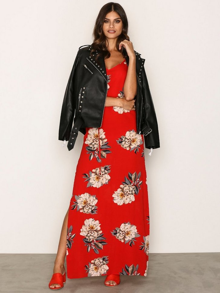 Flower Maxi Dress køb festkjole