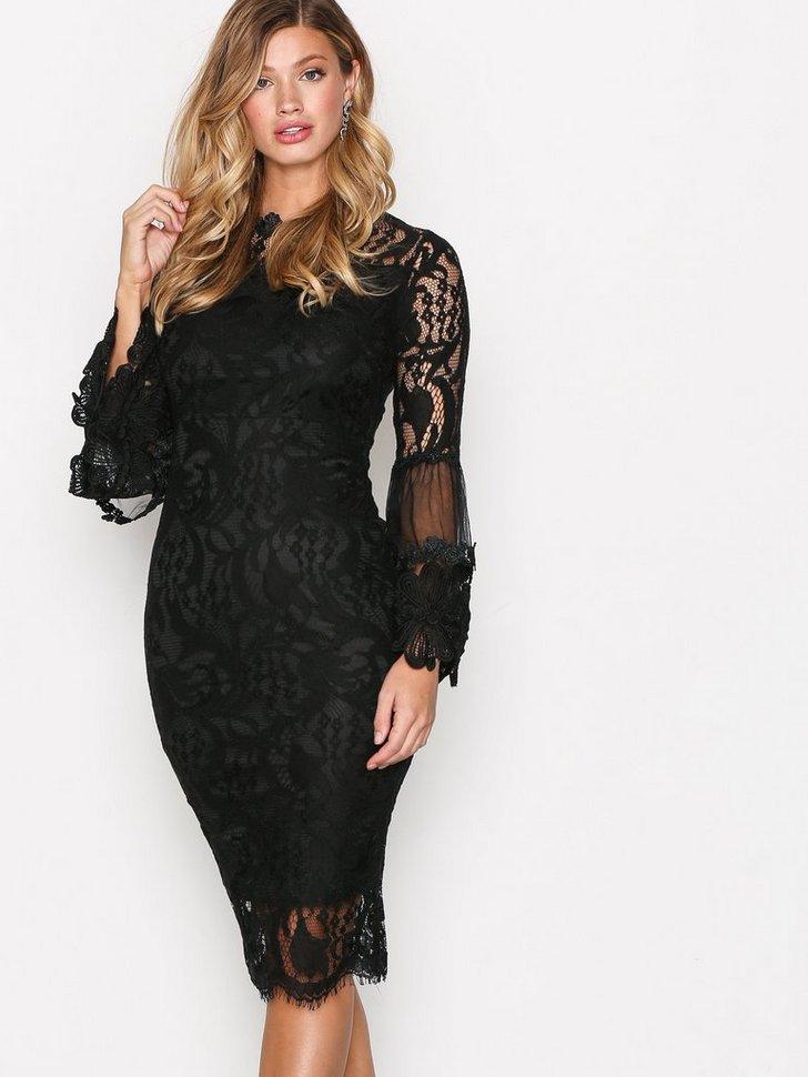 Dreamy Sleeve Lace Dress køb festkjole