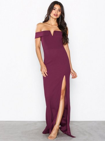 Ax Paris - Bardot Maxi Dress