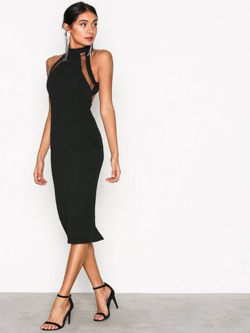 Ax Paris - Turtle Neck Strap Dress