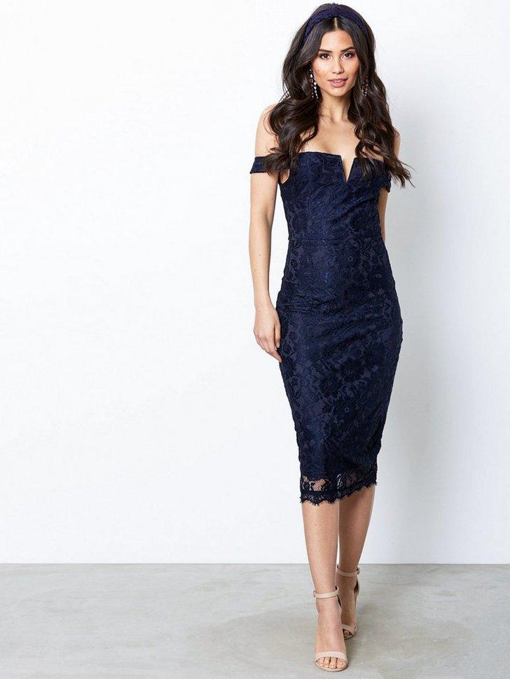 Bardot Lace Dress køb festkjole
