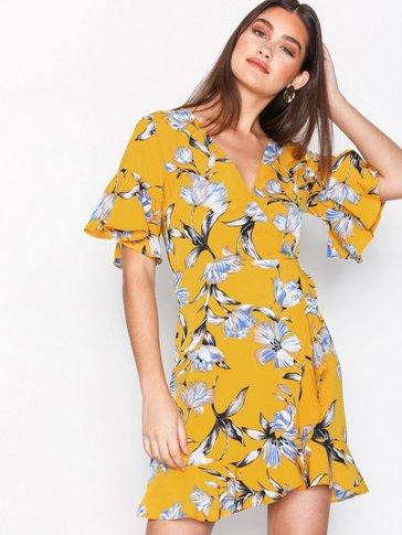 Ax Paris - V-Neck Frill Dress