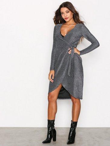 Glamorous - Wrap Long Sleeve Dress
