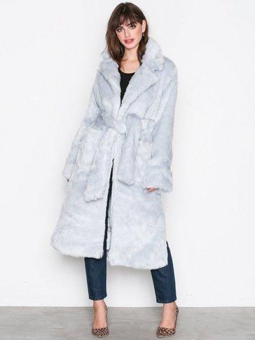 Glamorous - Fur Wrap Coat