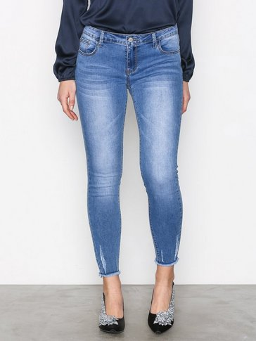 Glamorous - Stonewash Skinny Jeans