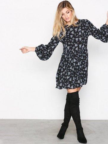 Glamorous - Printed LS Dress