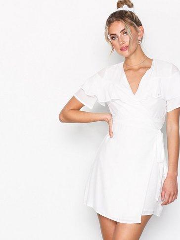 Glamorous - Wrap Flounce Dress