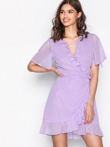 Glamorous - Short Sleeve Wrap Dress