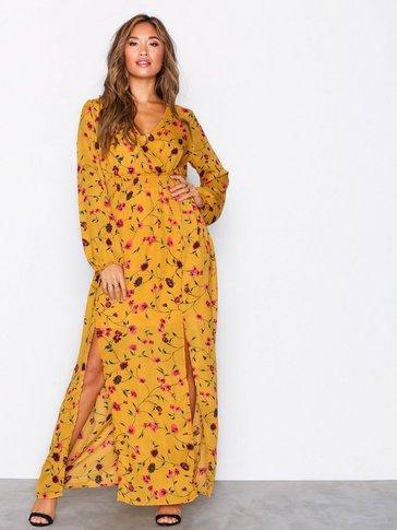 Glamorous - Long Sleeve Maxi Dress