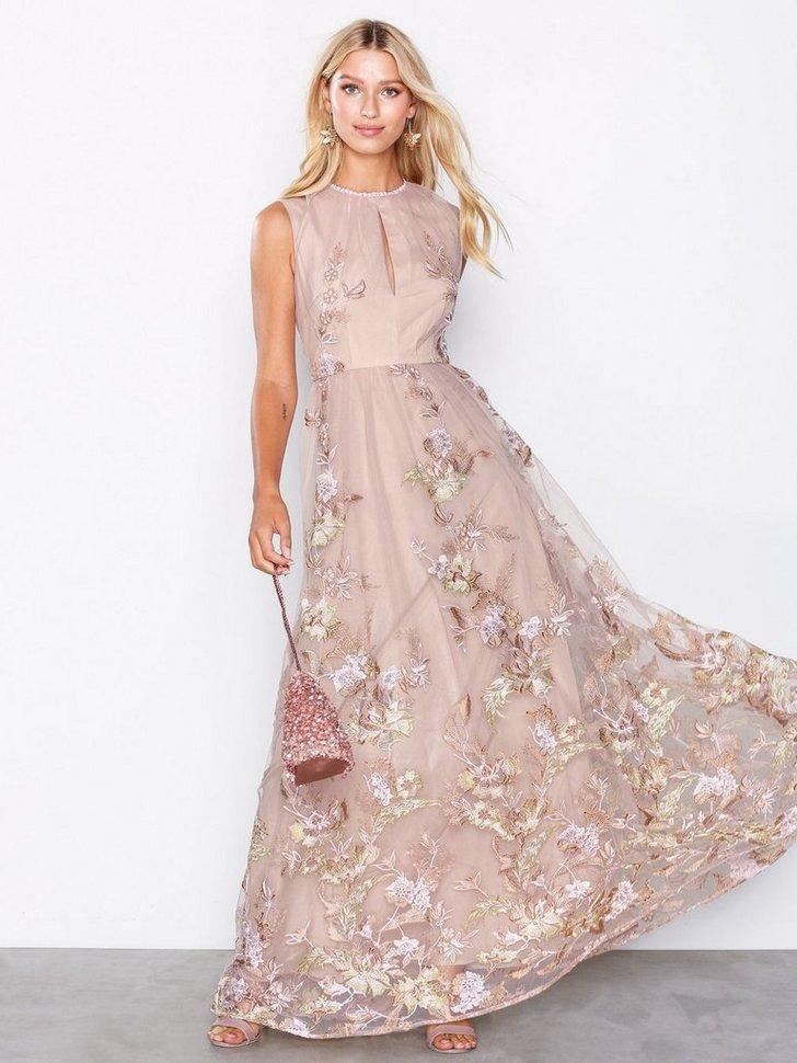 Gallakjole festkjole Floral Maxi Dress festtøj
