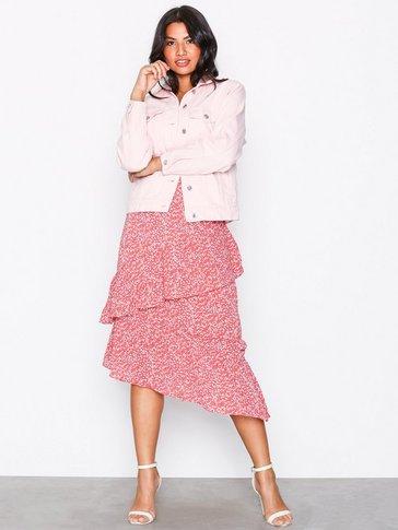 Glamorous - Frill Midi Skirt