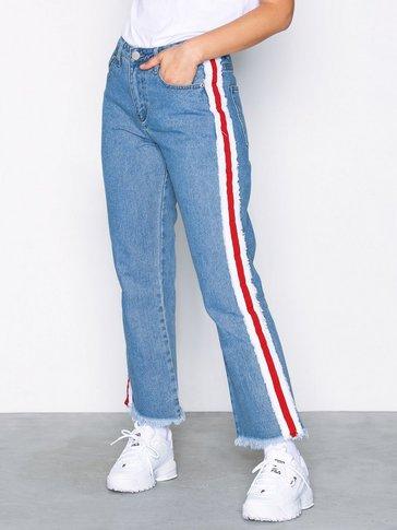 Glamorous - Side Stripe Jeans