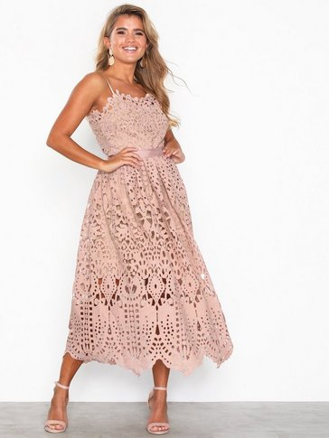 U Collection - Strappy Lace Dress