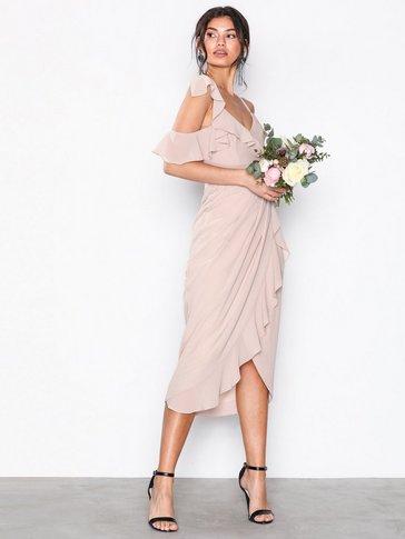 TFNC - Elsa Midi Wrap Dress