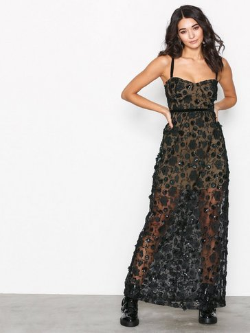 FOR LOVE AND LEMONS - Beatrice Strappy Maxi Dre