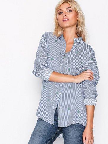 Lee Jeans - Longline Shirt Beyond Blu