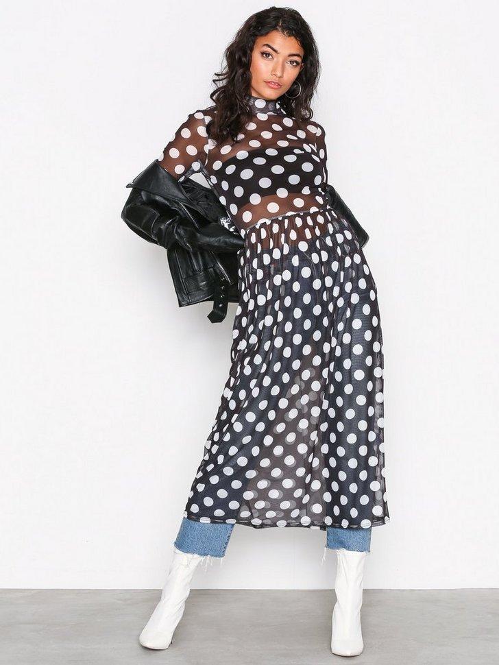 Nelly.com SE - Print Mesh Dress 79.00 (398.00)